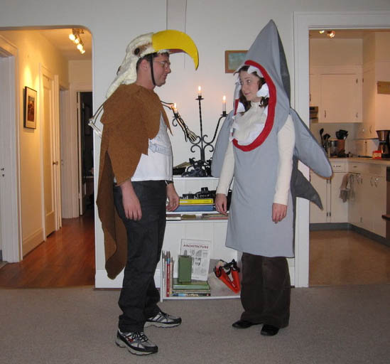 Eagle vs Shark Couples Costume - CostumePop