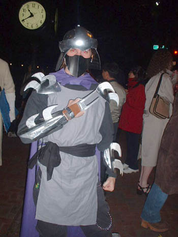 clearly modeled after the original animated series this shredder costume