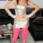 Futuristic Space Girl Costumes
