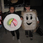 Frosted Mini Wheats Costume and Sushi Costumes