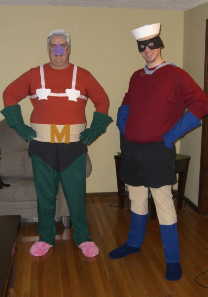These Mermaid Man and Barnacle Boy costumes ... & Mermaid Man and Barnacle Boy SpongeBob Costumes | Costume Pop