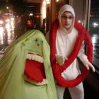 Ghostbusters Logo and Slimer Costumes