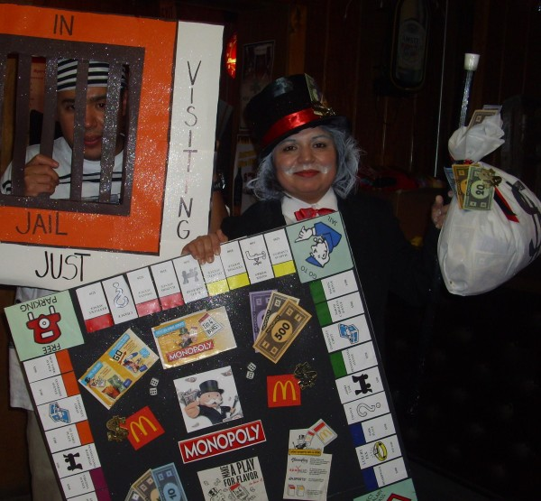 mcds monopoly duo costumes costume pop