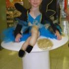 Fairy Pixie on Mushroom Costumes