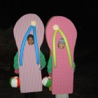 Mis-matched Flip Flops Costumes