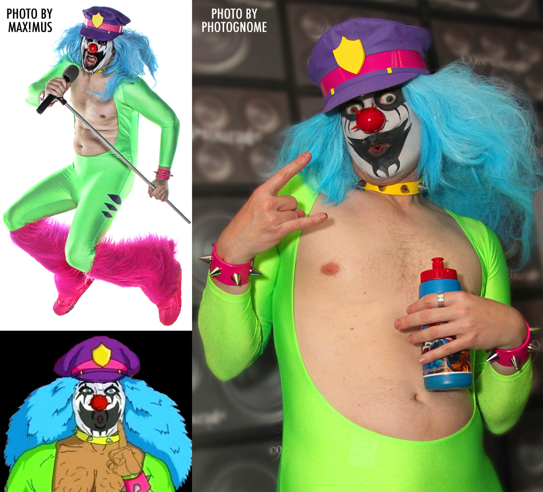 Dr. Rockzo (the rock n' roll clown) Costumes