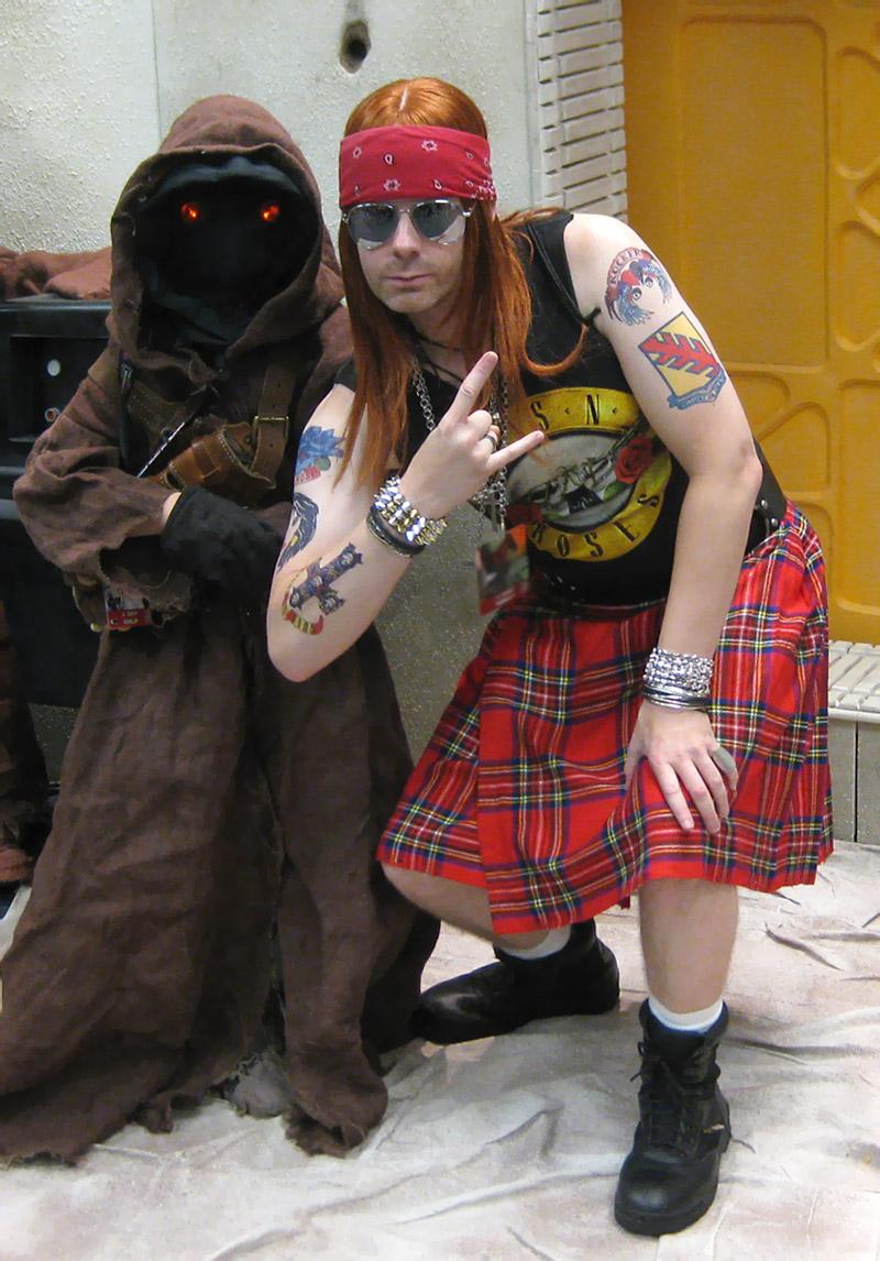 Axl Rose (Guns n' Roses singer) Costumes