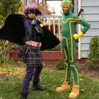 hit girl and Kick Butt Costumes