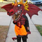 Fireball Breather Dragon Costumes