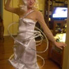 Lady Gaga Orbit Dress Costumes