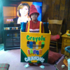 Crayon in a Crayola box Costumes