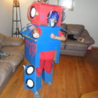 Optimus Prime Transformer Costumes