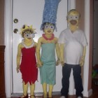 The little version of the Simpsons Costumes