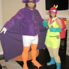 Darkwing Duck and Megavolt Cosutmes