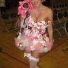 Lady Gaga Hello Kitty Costumes