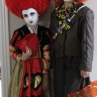 Queen of Hearts and Mad Hatter Costumes