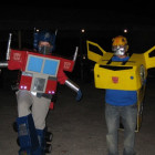 Optimus Prime and Bumble Bee Costumes