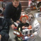 Firefighter with Firetruck Costumes