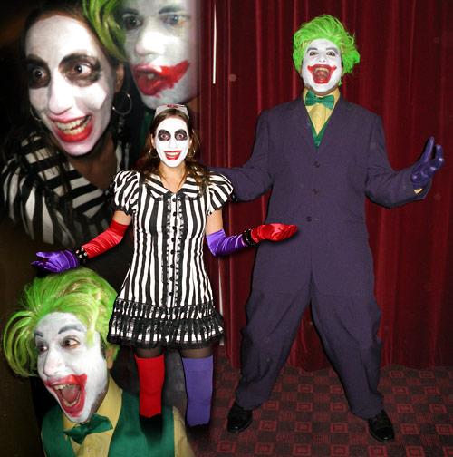 Halloween Joker And Harley Quinn Costumes.The Original Joker Harley Quinn Costumes Costume Pop
