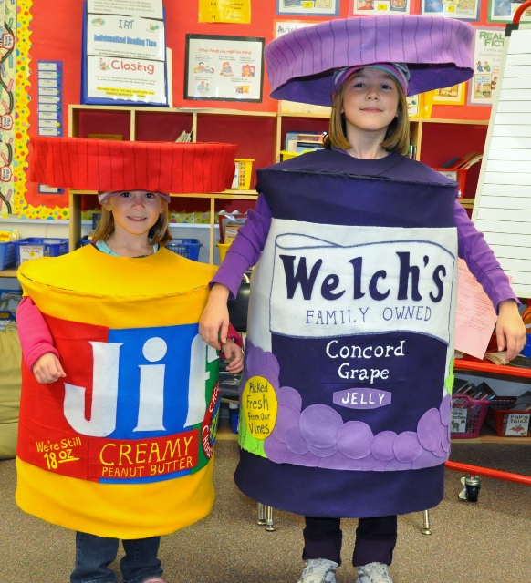 Peanut Butter and Jelly Costumes - CostumePop