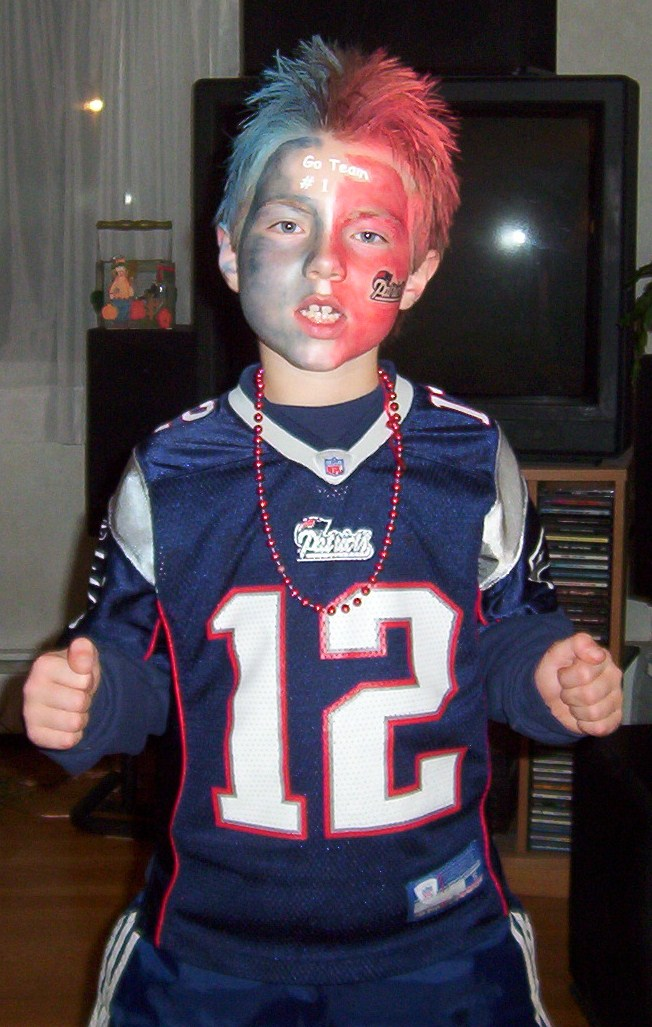 New England Patriots Fan Costume - CostumePop