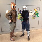 Rocketeer and Shredder Cosplay at Special Edition NYC 2014