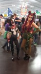 Venom and Poison Ivy Cosplay at Special Edition NYC 2014