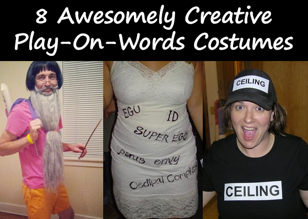 8 Awesomely Creative Play On Words Costumes Costume Pop