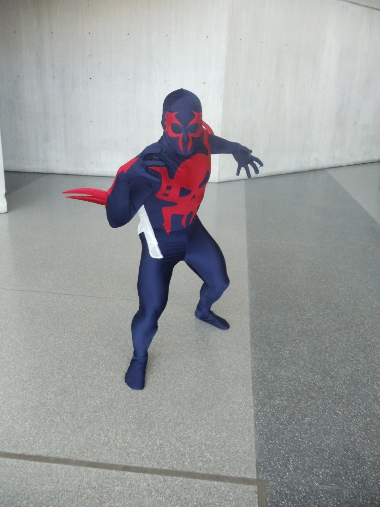 Spider-Man 2099 Cosplay at Special Edition NYC 2014