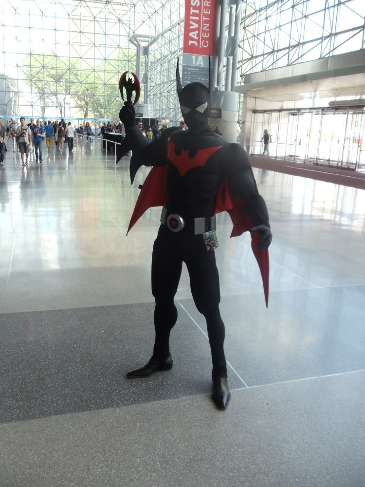 Batman Beyond Cosplay at Special Edition NYC 2014