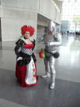 Queen of Hearts and Ultron Cosplay at Special Edition NYC 2014
