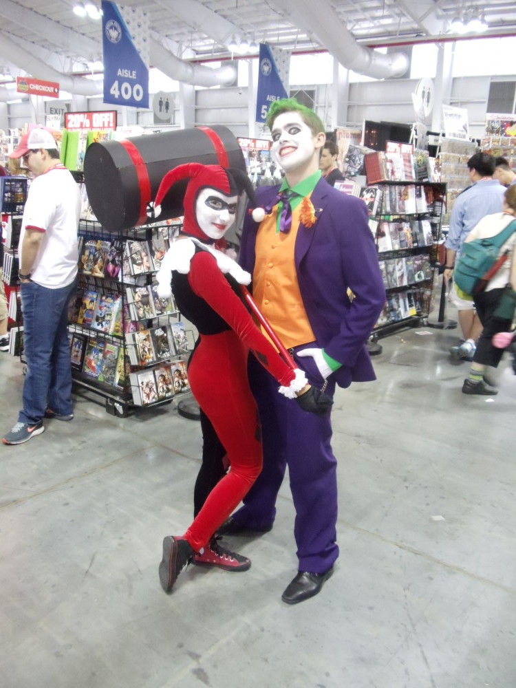 Joker and Harley Quinn Cosplay at Special Edition NYC 2014