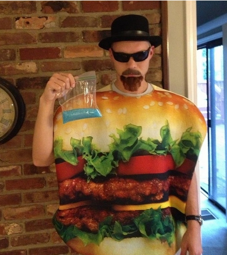 Heisenburger Costume - Costume Pop