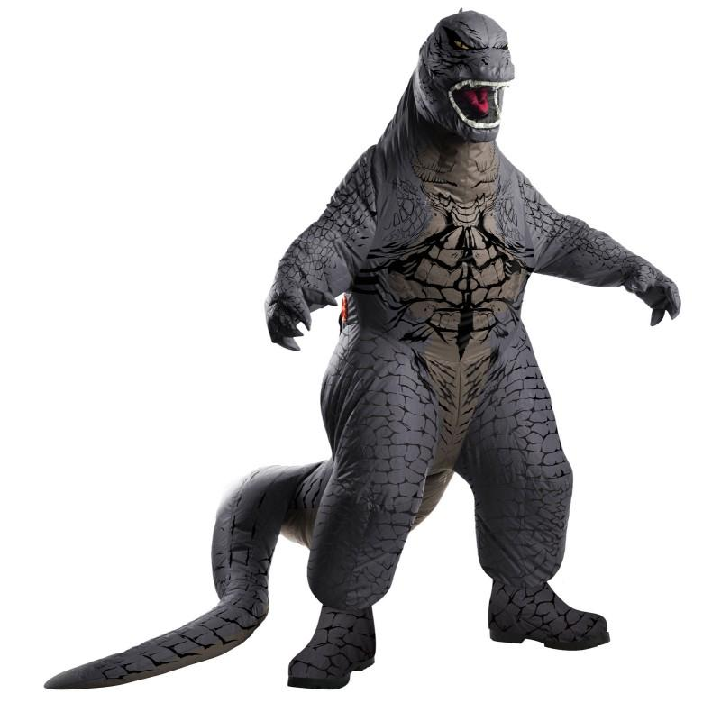 Godzilla Deluxe Adult Inflatable Costume - CostumePop