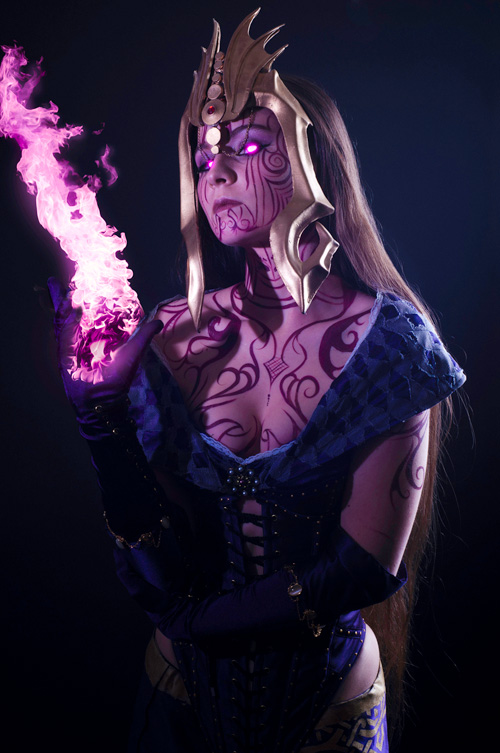 Liliana from Magic: The Gathering Cosplay