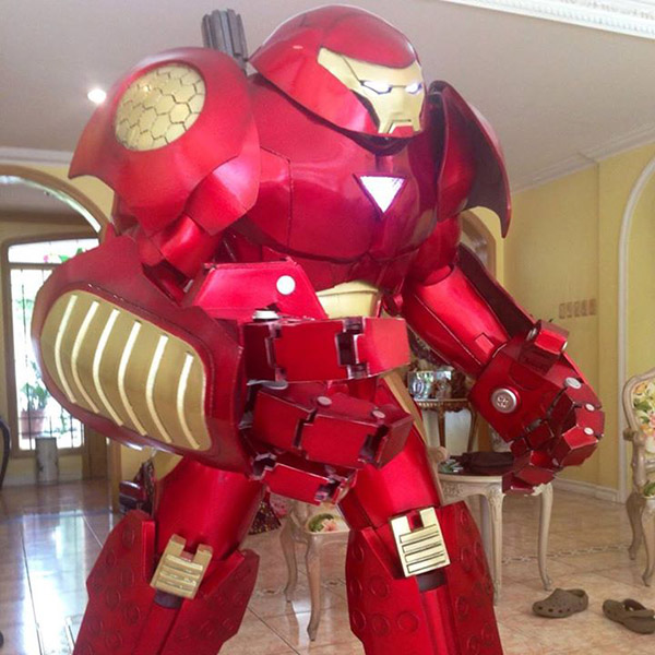 Iron Man Hulkbuster Armor Cosplay - Costume Pop