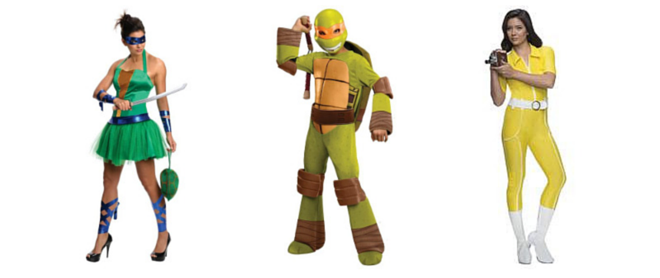 Teenage Mutant Ninja Turtles Costumes - CostumePop