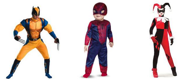 Superhero Costumes - CostumePop