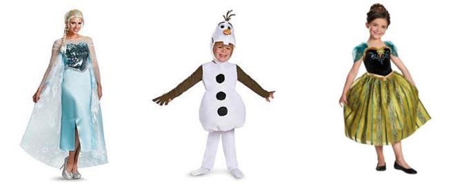 Frozen Costumes - CostumePop
