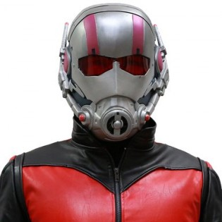 Ant-Man Full Head Mask Prop - Front - CostumePop