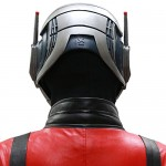 Ant-Man Full Head Mask Prop - Back - CostumePop