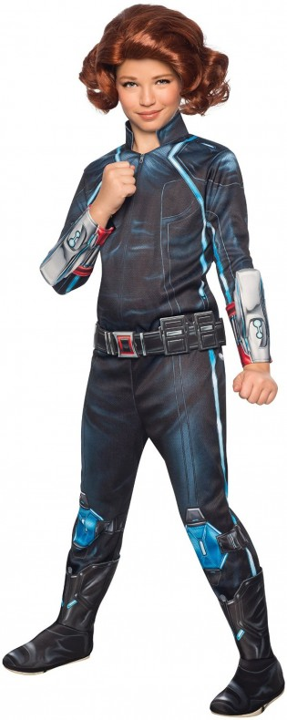 Age of Ultron - Black Widow Child's Costume - CostumePop
