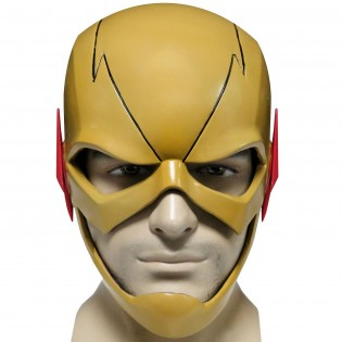 The Flash Mask - Yellow Front - CostumePop