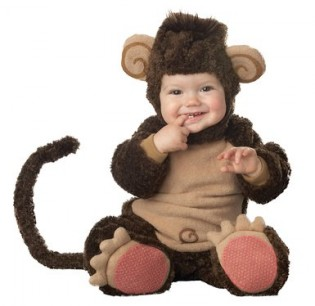 InCharacter Infant Monkey Costume - CostumePop