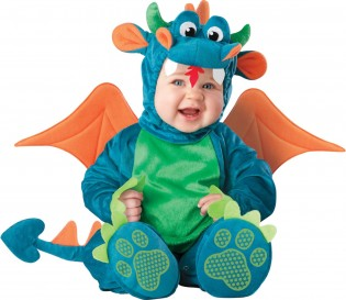InCharacter Unisex-baby Infant Dragon Costume - CostumePop