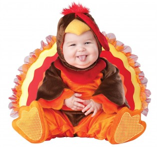 InCharacter Unisex-baby Infant Gobbler Costume - CostumePop