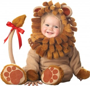 InCharacter Unisex-baby Infant Lion Costume - CostumePop