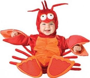 InCharacter Unisex-baby Infant Lobster Costume - CostumePop