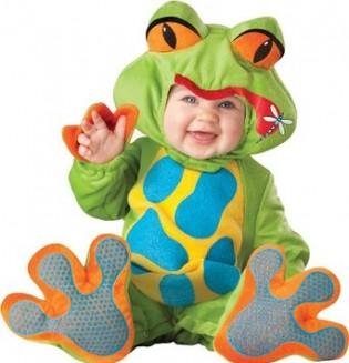 InCharacter Unisex-baby Newborn Froggy Costume - CostumePop
