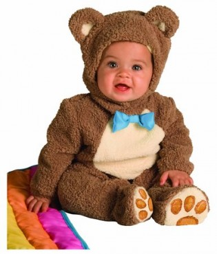 Rubie's Costume Infant Noah Ark Collection Oatmeal Bear Jumpsuit Costume - CostumePop
